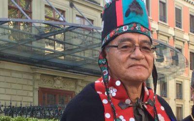 Chief Na'Moks Reports to the UN