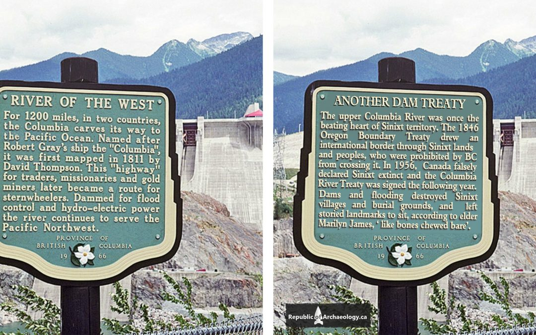 Another Dam Treaty, colonial history
